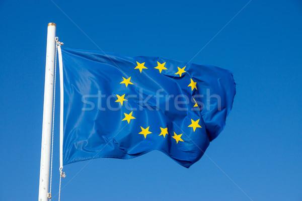 Flag of the European Union Stock photo © elxeneize