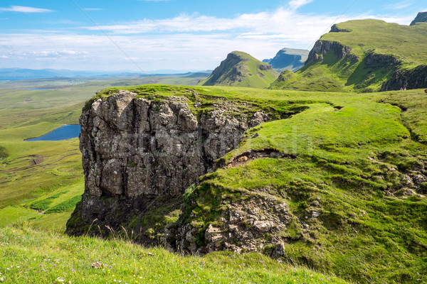 The Trotternish Ridge in Scotland Stock photo © elxeneize