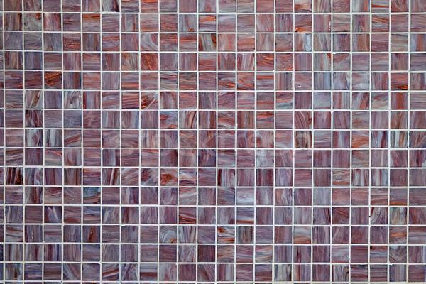 Background from small mosaic tiles Stock photo © elxeneize