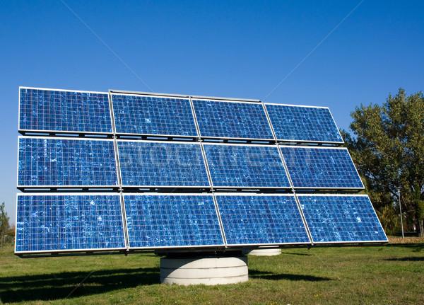 Solar panel Stock photo © elxeneize