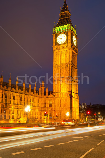 Clocktower Big Ben in London  Stock photo © elxeneize