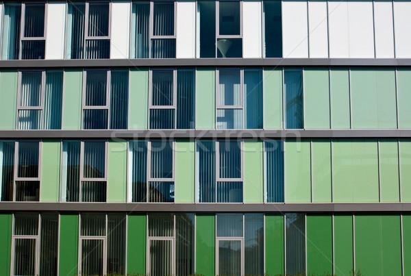 Moderno facciata edificio per uffici diverso ufficio costruzione Foto d'archivio © elxeneize