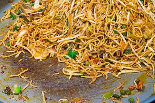 タイ料理 おいしい 調理済みの 市場 緑 ストックフォト © elxeneize