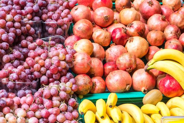 свежие помидоров продажи фитнес саду фон Сток-фото © elxeneize