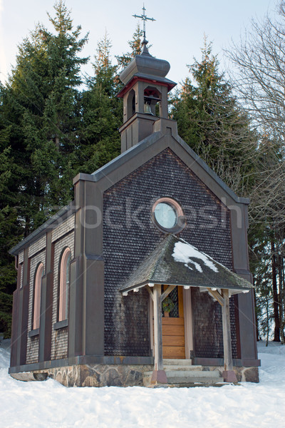 Small chapel in the Black Forest Stock photo © elxeneize