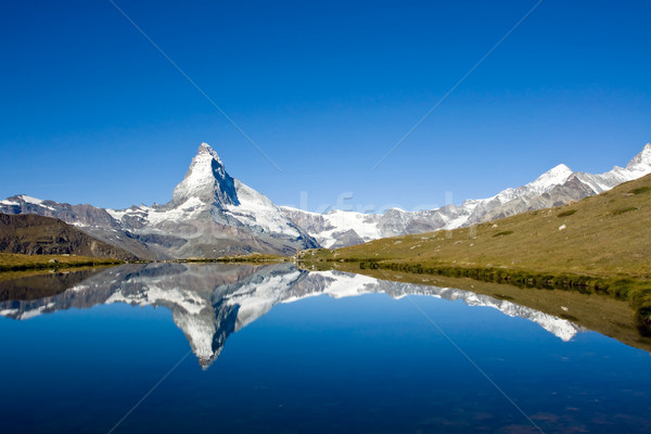 Panorama of the Matterhorn Stock photo © elxeneize