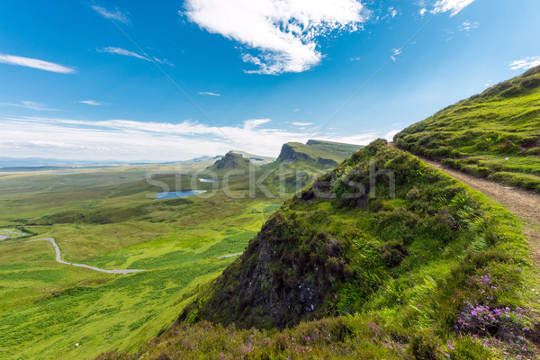Open landscape on the Isle of Skye Stock photo © elxeneize