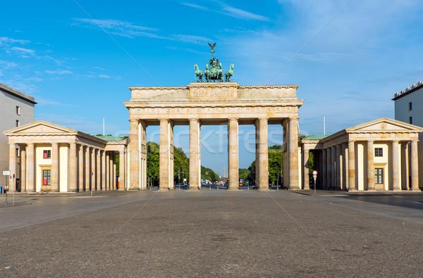 Panorama of the Brandenburger Tor Stock photo © elxeneize