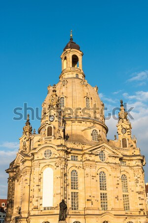 The restored Church of our Lady Stock photo © elxeneize