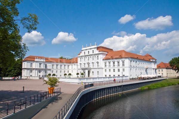 The palace of Oranienburg  Stock photo © elxeneize