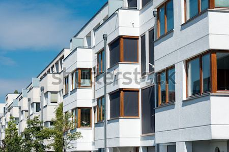 Townhouses in Berlin Stock photo © elxeneize