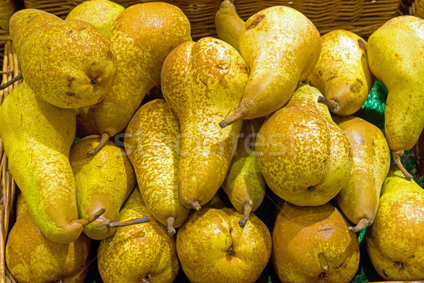Fresh pears  Stock photo © elxeneize