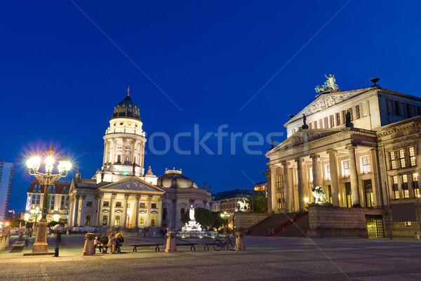 The Gendarmenmarkt in Berlin  Stock photo © elxeneize