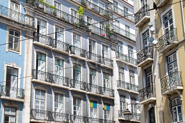 Stock photo: Buildings in Lisbon