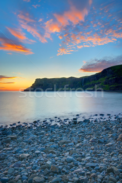 The Talisker Bay at dawn  Stock photo © elxeneize