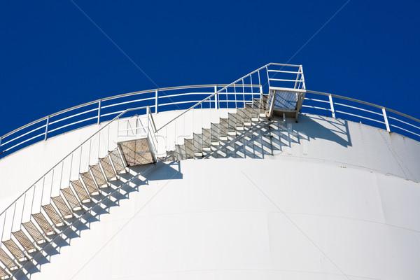Stairs leading to the sky Stock photo © elxeneize