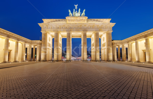 The Brandenburger Tor in Berlin Stock photo © elxeneize