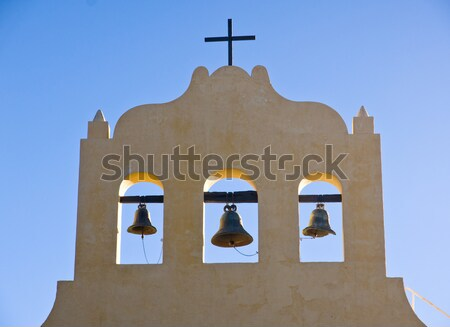 Roof of an orthodox church Stock photo © elxeneize
