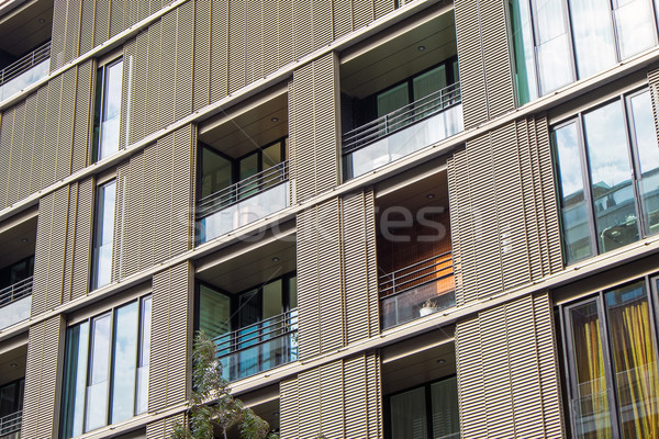 Stock photo: Detail of a residential building