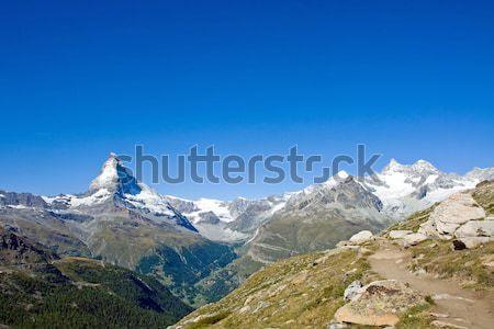 Matterhorn and Nadelhorn Stock photo © elxeneize