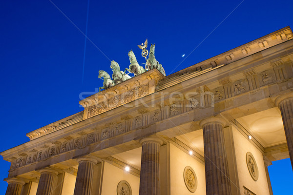 View of the Brandenburger Tor in Berlin Stock photo © elxeneize