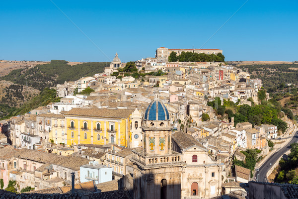 Belo sicília barroco cidade Itália cidade Foto stock © elxeneize