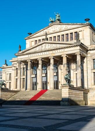 コンサート ホール ベルリン ドイツ 建物 市 ストックフォト © elxeneize