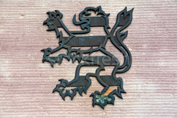 Coat of arms from Hesse Stock photo © elxeneize