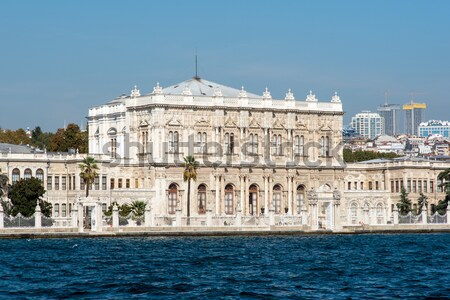 The Dolmabahce Palace in Turkey Stock photo © elxeneize