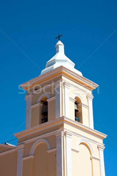 Tower of a rural church Stock photo © elxeneize