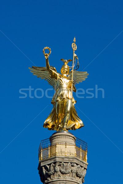 Siegessaeule in Berlin Stock photo © elxeneize