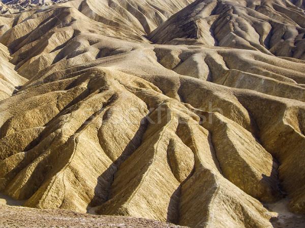 Kaya nokta ölüm vadi ABD çöl Stok fotoğraf © emattil