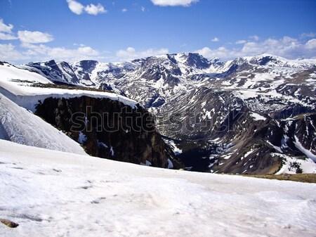 Scenico autostrada Montana view montagna Foto d'archivio © emattil
