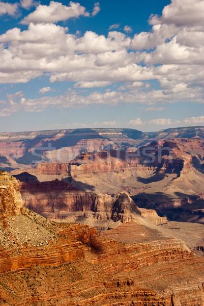 Grand Canyon dag schilderachtig Arizona USA Stockfoto © emattil
