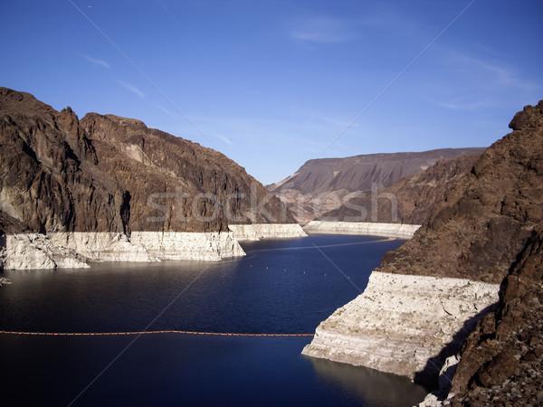 Görmek Hoover Barajı Nevada rezervuar ABD su Stok fotoğraf © emattil