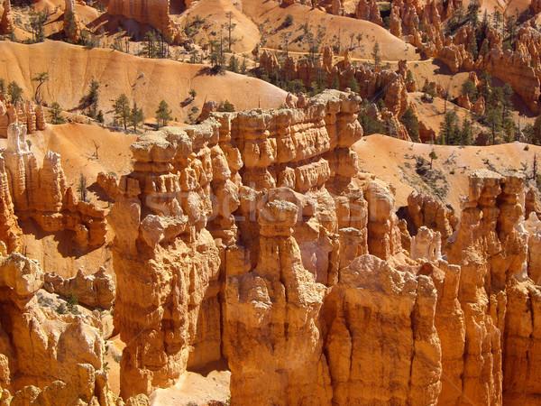 岩 公園 奇妙な ユタ州 米国 砂漠 ストックフォト © emattil
