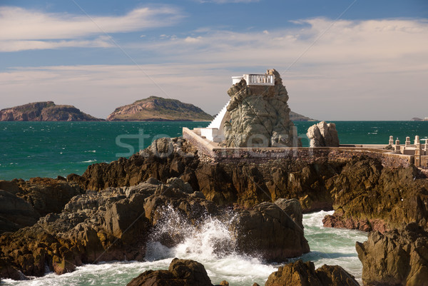 Coastal Overlook at Mazatlan Mexico Stock photo © emattil