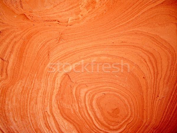 Zachte zandsteen cirkels vorm natuur Stockfoto © emattil