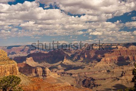 Grand Canyon manzara görmek vadiler doku doğa Stok fotoğraf © emattil