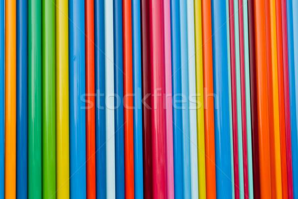 Kleur chaos lijnen vol spectrum primair Stockfoto © emattil
