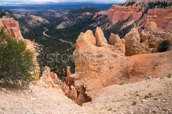 Riverbed on canyon floor at Bryce Canyon Stock photo © emattil