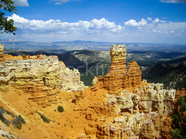 Rock spires of Bryce Canyon Stock photo © emattil
