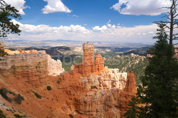 Colorful hoodoos of Bryce Canyon Stock photo © emattil
