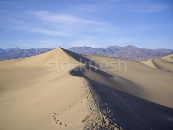 Sand Dunes of Death Valley Stock photo © emattil