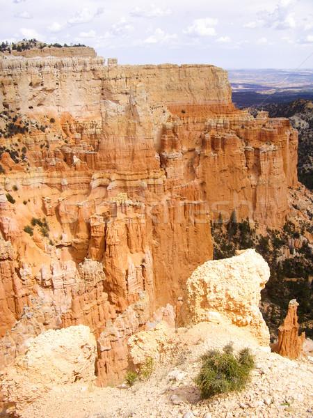 Bordo canyon parco Utah USA cielo Foto d'archivio © emattil