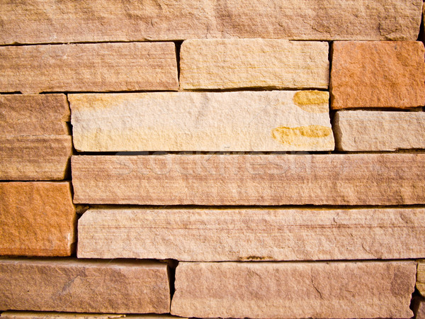Colorful Rock Wall Stock photo © emattil
