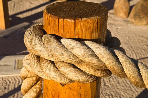 Large Rope plait Stock photo © emattil