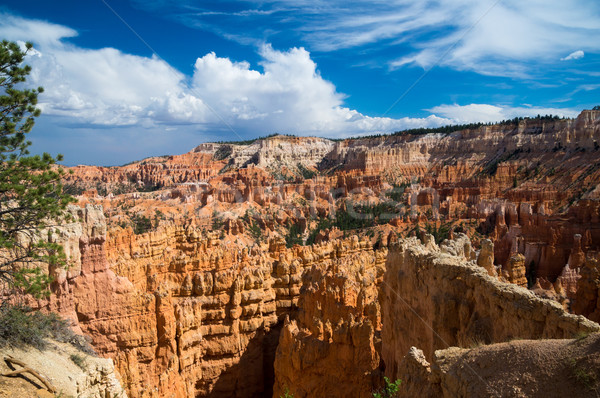 Storm clouds over Bryce Canyon Stock photo © emattil