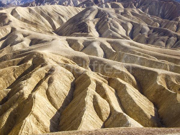 Rocha estranho ponto morte vale deserto Foto stock © emattil