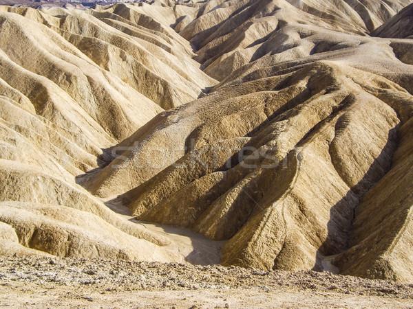 Kanion śmierci dolinie rock pustyni piasku Zdjęcia stock © emattil
